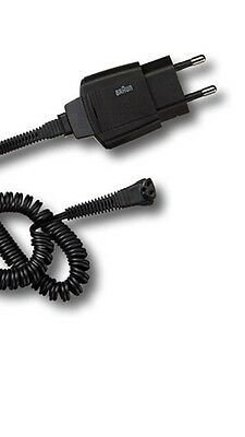 Braun Series 7 Pulsonic Shaver Lead / Charging Plug Cable, 9595 9565 67030749