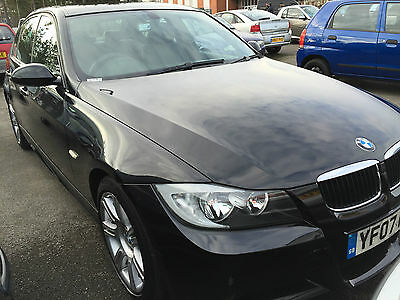 2007 Bmw 318I M Sport Black 1 Owner, Full Leather, Fabulous Car, 6 Service Stamp