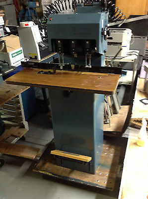 LASSCO SPINNIT FMM-3 Three Hole PAPER DRILL - GREAT CONDITION!