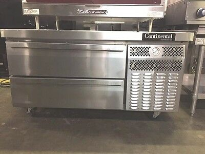 Continental Dl480, 2 Drawer Chef Base   #11456