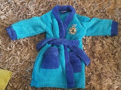 kids boys paw patrol blue dressing gown age 3 - 4 years brand new
