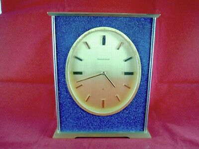 Rare C1960 Jaeger Lecoultre 8 Day Mantle Clock Model 544 - Working