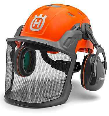 HUSQVARNA **Forest Helmet Technical** Ear Defenders & Visor Adjustable