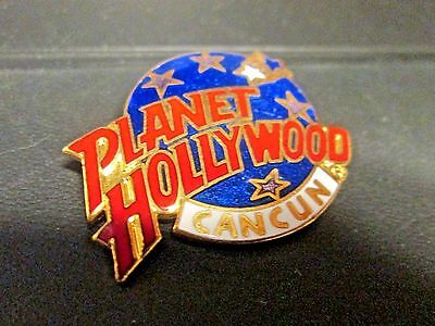 A Classic Planet Hollywood Pin from Cancun