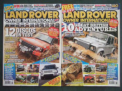 Bulk Lot of Landrover Owner International Magazines (1991 - 2011)