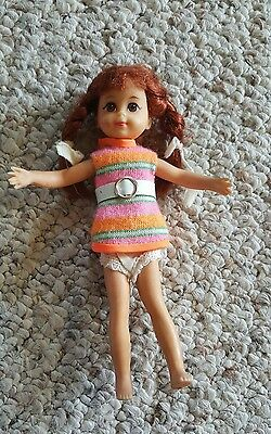 Mattel 1965 Tutti Doll Red Hair and bendable