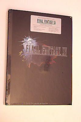 Final Fantasy XV: The Complete Official Guide Collector's Edition Hardcover NEW
