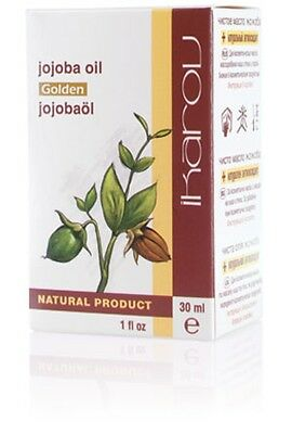 PURE NATURAL JOJOBA OIL - Hair Stimulation, Body Massage and Wellbeing,