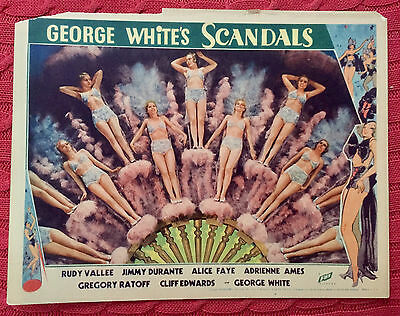 George White's Scandals 1934 11 chorus girls Fox Pictures