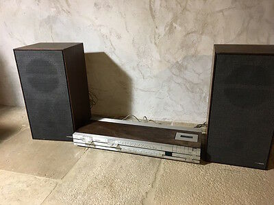 Ampli Tuner Bang et Olufsen beocenter 1400 + paire d'enceintes Rank Arena