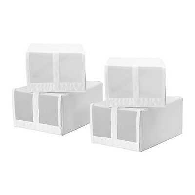 New Condition IKEA Skubb Shoe Box White x 5 (More Available)