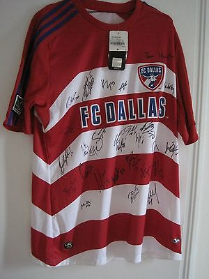 MLS Dallas FC Signed Jersey by Team Medium