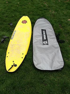 Liquid Shredder Surfboard & Shoulder Carry Case Collect Cardiff
