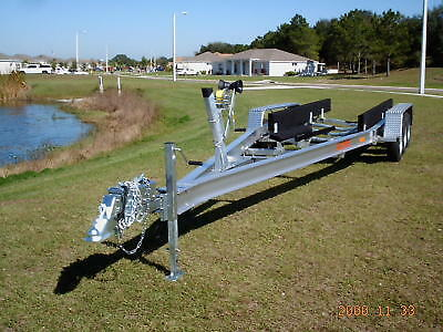 New Ace 2017 Aluminum Boat Trailer 26-28' 10,500 Gvwr