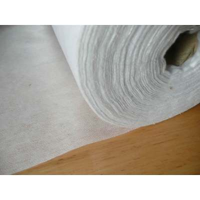 Soft Handle Iron On Interfacing Medium Weight 90cm Wide - White or Charcoal