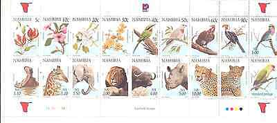 Namibia - Stamp Booklet Nr.6 1997 ''Flora and Fauna of Namibia'' (18 Stamps)