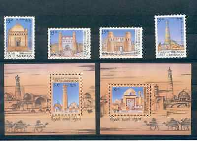 Uzbekistan - Lot of Stamps and Souvenir Sheets 1997 MNH**