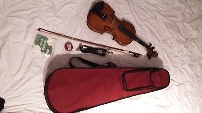 STENTOR Violin Student II 4/4 Lot With Extras