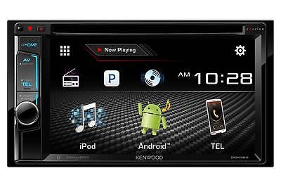 "Kenwood DDX393 2-DIN Bluetooth In-Dash DVD/CD Car Stereo Receiver w/ 6.2"" Screen"