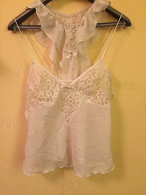 Cami Top and Briefs size 10 in Ivory