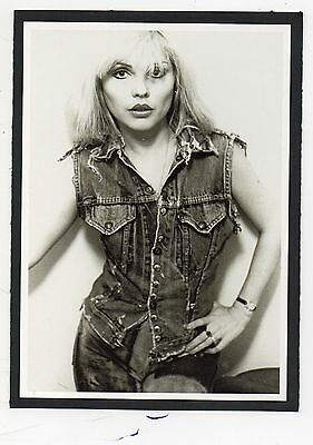 BLONDIE - Debbie Harry - Set of Four RPPCs (late 70's).