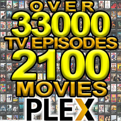 Reliable 7 Day Plex VOD TV & Movies 2600 Movies 41000 TV Updated Daily On Demand