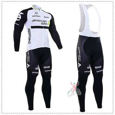 Ropa ciclismo entretiempo: Dimension Data tour 2016 maillot cycling otoño pants