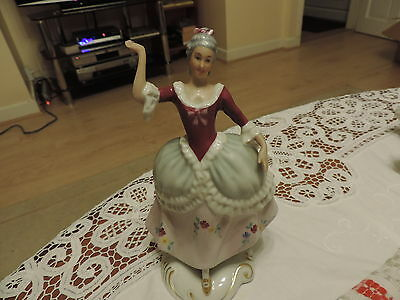 Lovely Royal Dux figurine of a Lady