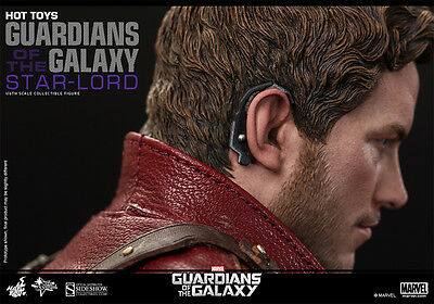 Hot Toys 1/6 Exclusive Guardians Of The Galaxy Mms255 Star-Lord Action Figure