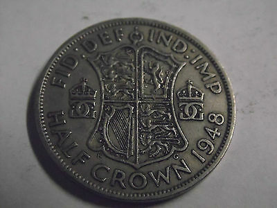 Half Crown Coin. 2/6 1948