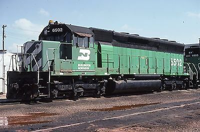 BN SD45 # 6502 at Lincoln Shops