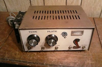 Vintage Tube Transmitter Amplifier With Rotron Air Flow