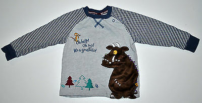 TU THE GRUFFALO Baby Boy Long Sleeved Top Size 18-24 Months 86-92CM