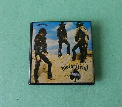MOTORHEAD ACE OF SPADES VINTAGE EARLY 1980's PINBACK BUTTON