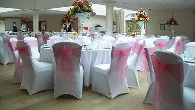 Chair Covers Spandex Lycra Hire 150 For £100, Sashes All Colours Available
