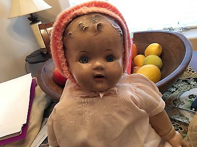 21 in. Composition Doll With Sleepy Eyes Unmarked