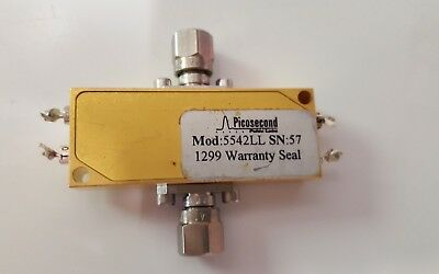 Picosecond Pulse Labs 5542LL, 12 kHz to 40 GHz, 7 ps, 100 mA, DUAL Bias Tee