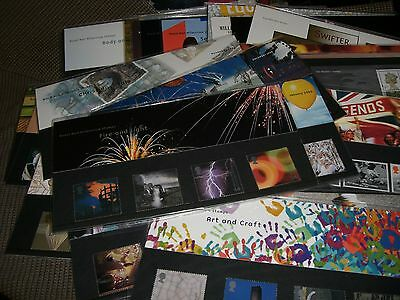 Lot Of 30 Royal Mail Mint Stamps Presentation Packs