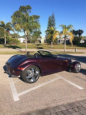 1999 Plymouth Prowler basic 1999 plymouth prowler,paxton supercharged 25730 mi. clear title,purple in color