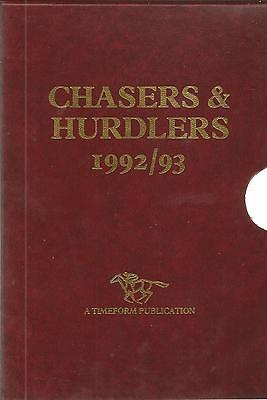 Horse Racing: Timeform chasers and hurdlers 1992/93 + Statistical Companion