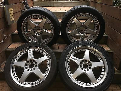 Genuine NISMO GT3 wheel set - Forged 2 piece rims with tyres