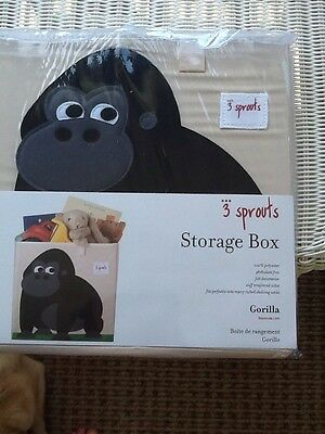 3 Sprouts Storage Cube Gorilla Brand New In Package