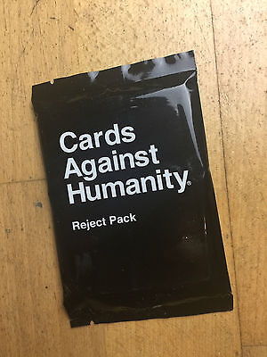 Cards Against Humanity Reject Expansion Pack New Sealed & Rare!