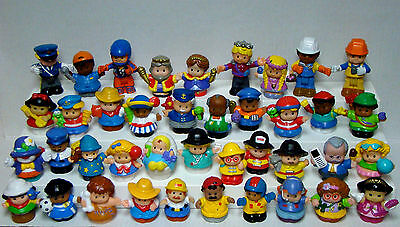 40 Fisher Price Little People Figures Small Plastic Toys