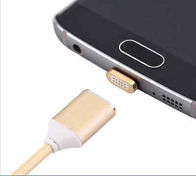 Magnetic Super Fast 2.4A USB Charger Cable For SAMSUNG - SONY - HTC - ANDROID