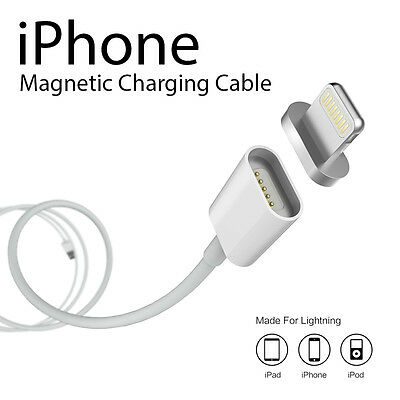 iPhone Magnetic Super Fast 2.4A Micro USB Charger Cable For iPhone 5/5s/6/6s/7