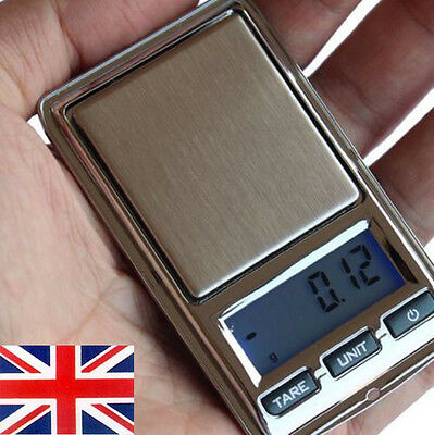 200g 0.01g Digital Precision Weight Electronic Pocket Lab Scale Mini Jewelry UK