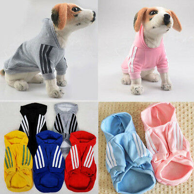 Pet Coat Dog Jacket Winter Clothes Puppy Cat Sweater Clothing Apparel US STOCK