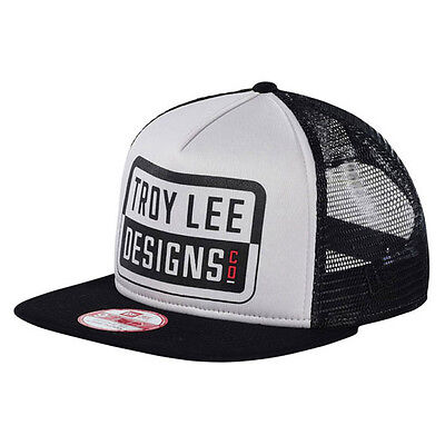 Troy Lee Designs KEEP STEPPIN New Era 9FIFTY Original Fit Hat - Silver