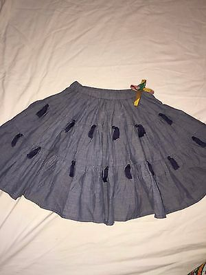 Nwt Pink Chicken New York Girl  Ruffle Skirt Size 7 Y   Retail $ 72
